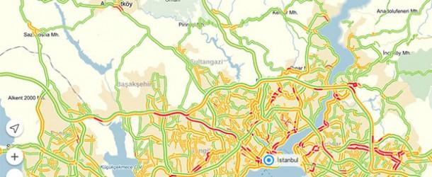 Yandex.Navigasyon ile favori yerleriniz artık bulutta
