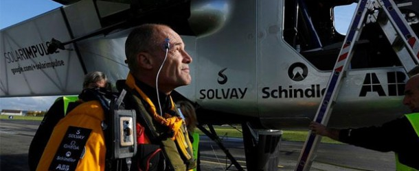 Solar Impulse 2016'ya kadar mola verdi