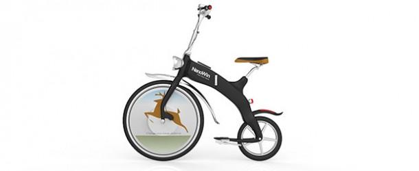 Dünyanın ilk katlanabilir elektrikli 'scooter'ı