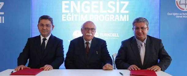 MEB ve Turkcell'den 'Engelsiz Eğitim Programı'