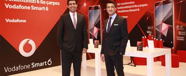 Vodafone Türkiye, Smart 6 ürün ailesini tanıttı