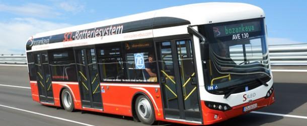 Elektrikli otobüs ihalesini Bozankaya kazandı