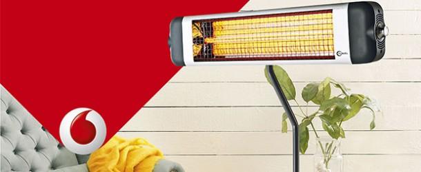 Vodafone Esnaf abonelerine ısıtıcı kampanyası