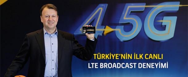 Turkcell 4.5G ile derbiyi cepten 4 farklı açıdan izletti