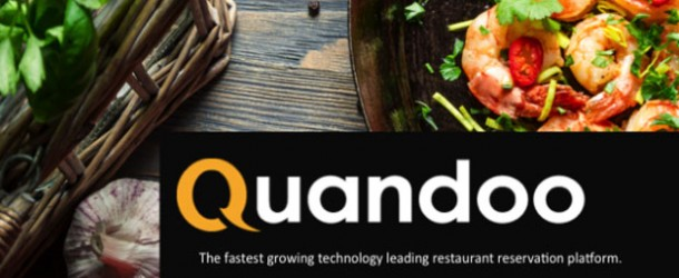 Online restoran rezervasyon platformu Quandoo 22 milyon misafire ulaştı