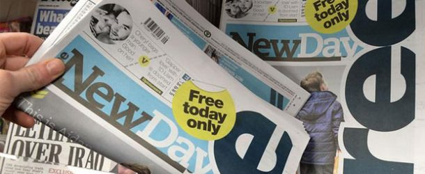 İngiliz gazetesi 'The New Day' 9 hafta dayanabildi