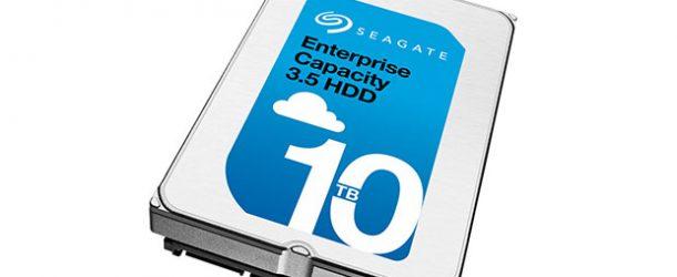 Seagate'in 10TB'lık dev diski satışa çıkıyor