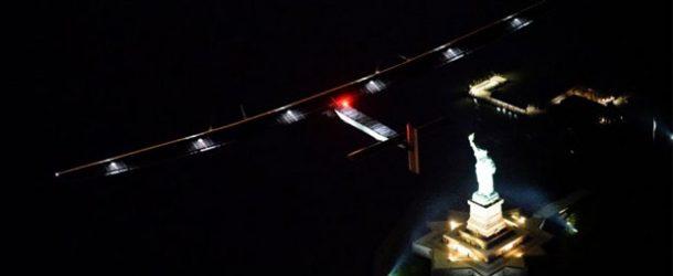 'Solar Impulse 2' New York'a ulaştı