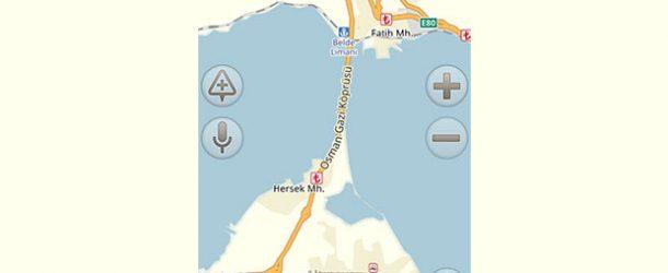 Yandex.Navigasyon'a Osmangazi Köprüsü de eklendi
