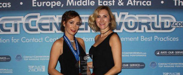 Turkcell Global Bilgi'ye dünya birinciliği