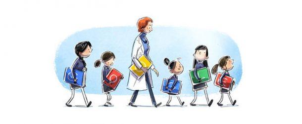Google'dan Türkan Saylan'a özel Doodle