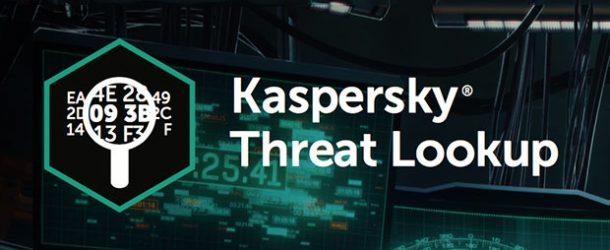 INTERPOL'ün kullandığı yazılım: Kaspersky Threat Lookup