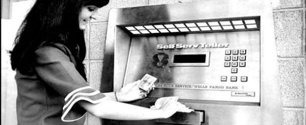 Bankamatik makineleri 50 yaşında