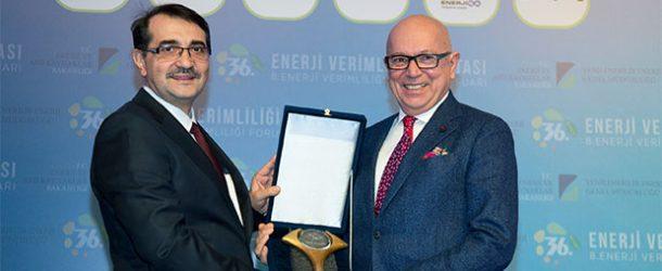 Netaş, enerjiyi en verimli kullanan firma seçildi