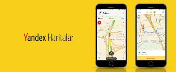 Yandex Haritalar'a sesli navigasyon güncellemesi