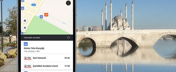 Toplu taşıma uygulaması Moovit şimdi Adana'da