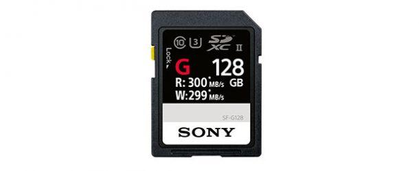 Sony dünyanın en hızlı SD kartını piyasaya sürdü