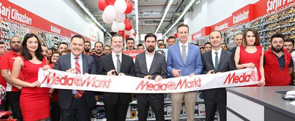 MediaMarkt'ın İstanbul'daki 15. mazağası Alemdağ'da