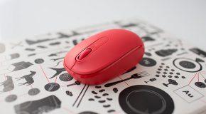 Microsoft Wireless Mobile Mouse 1850 ile masalar renkleniyor