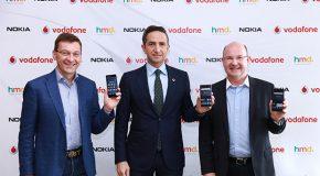 Yeni Nokia akıllı telefonlar Vodafone'da