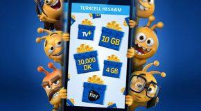 9,5 milyon Turkcell'liye 70 milyon hediye