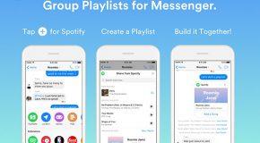 Spotify'dan Messenger'da Grup Çalma Listeleri