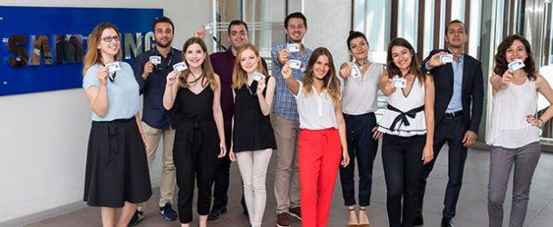 Samsung, 11 genç yeteneği daha bünyesine kattı