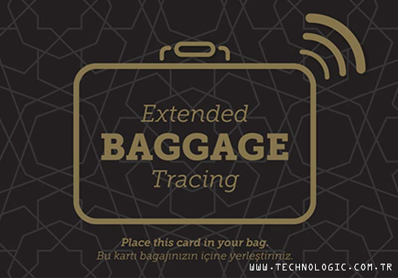 RFID Bagaj Kartı