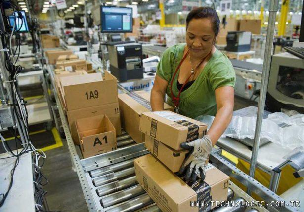 Amazon Lojistik koronavirüs