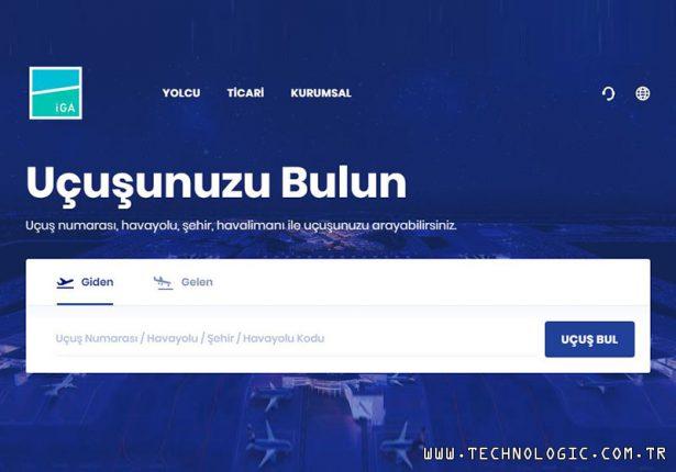 İstanbul Havalimanı Web Sitesi