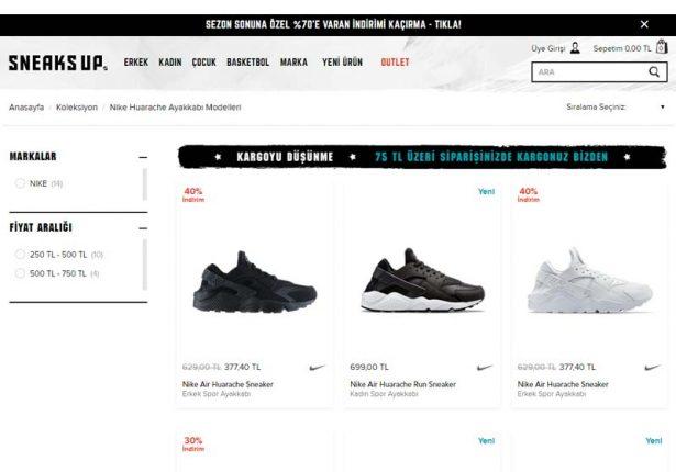 Nike Huarache Modelleri