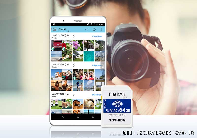 Toshiba SD Card FlashAir W- 04