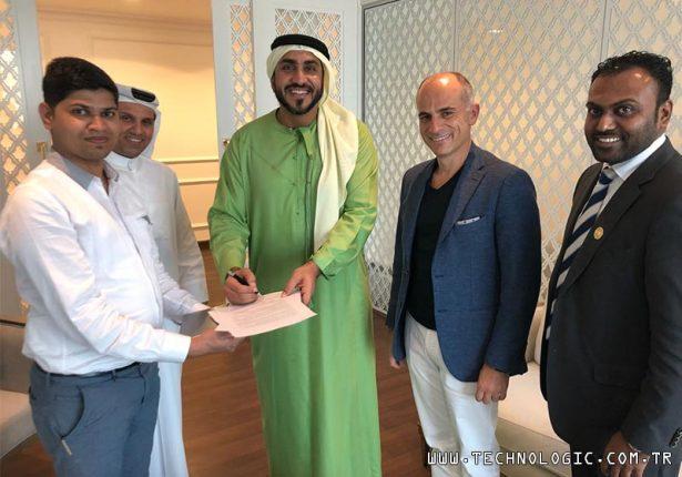 Dubai Barış Özistek Sharja Şeyhi Qasimi