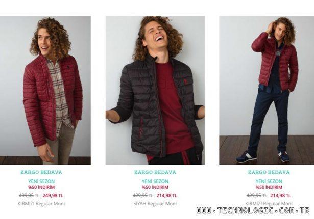 Kışlık mont modelleri U.S. POLO ASSN. internet mağazasında