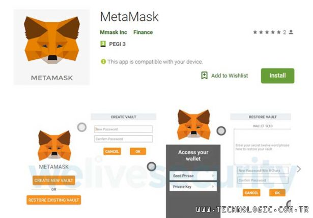 Metamask Android Clipper