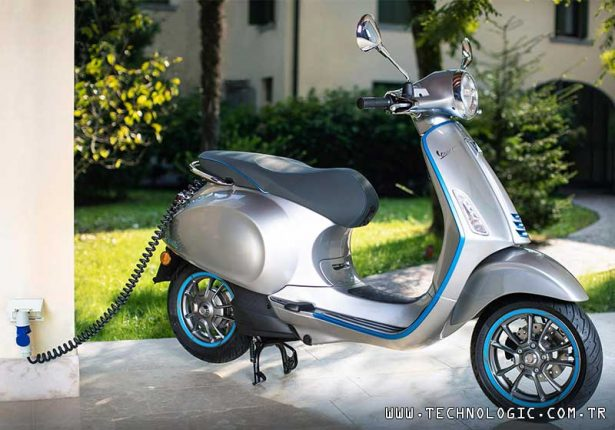 Elektrikli motosiklet Vespa