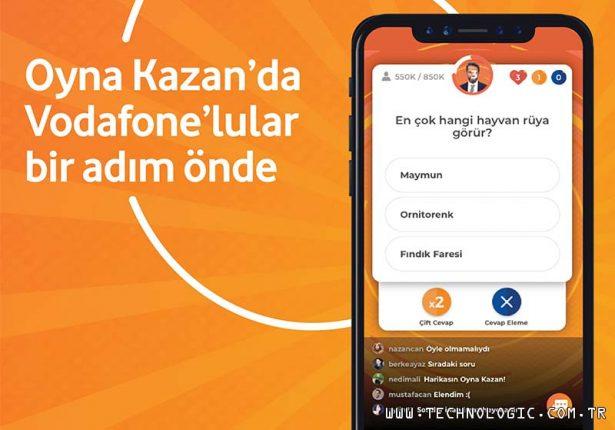 Oyna Kazan Vodafone