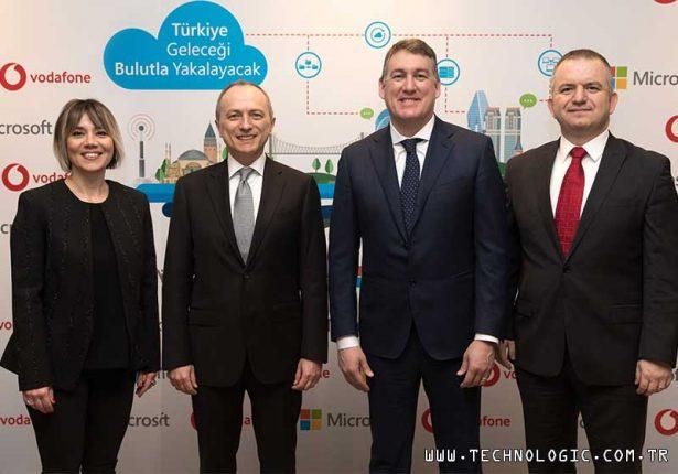 yapay zekâ Microsoft Vodafone