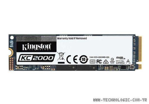 NVMe PCIe SSD: KC2000 Kingston