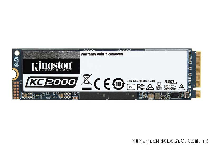NVMe PCIe SSD: KC2000 Kingston