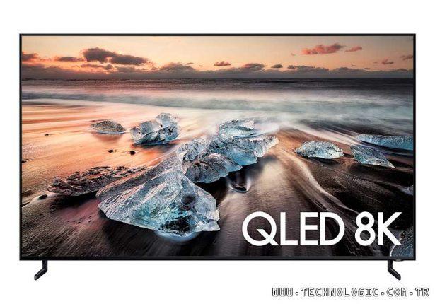 Samsung QLED 8K TV ekran yanması