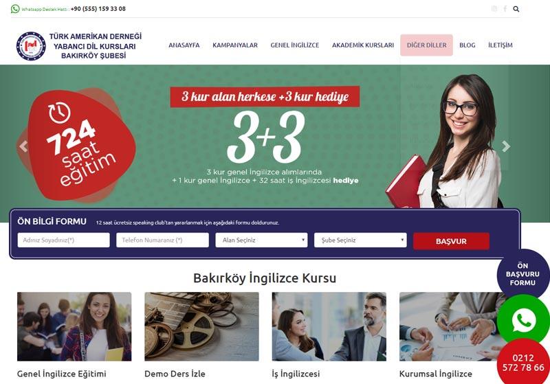 Bakırköy İngilizce kursu
