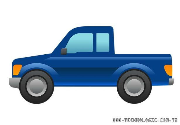Ford Pick-up emoji