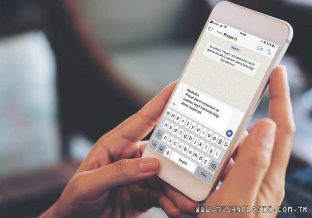 pronet Whatsapp destek