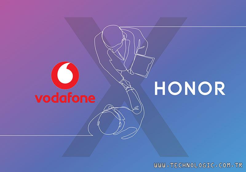 HONOR akıllı telefonlar şimdi Vodafone'da