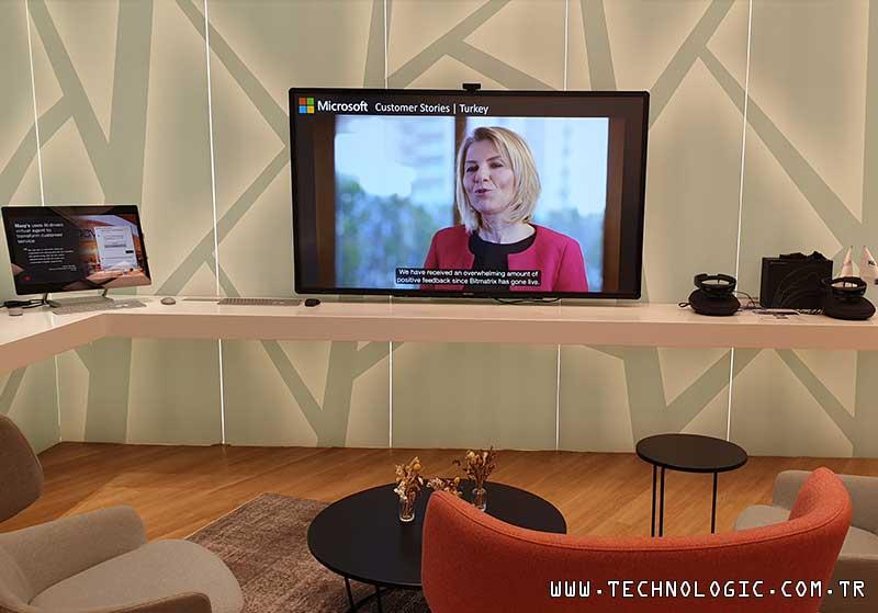 Microsoft Türkiye Teknik Çözüm Grubu Yöneticisi Cem Kubilay ve Teknik Mimar Erdem Gülhan