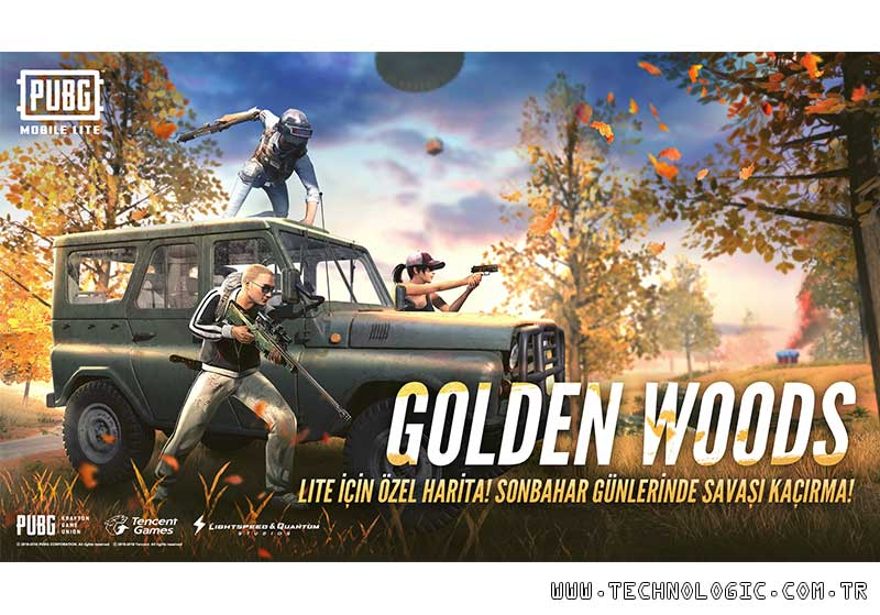 PUBG MOBILE LITE Golden Woods
