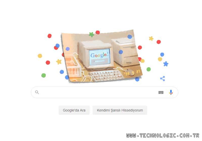 Google'ın doğum günü