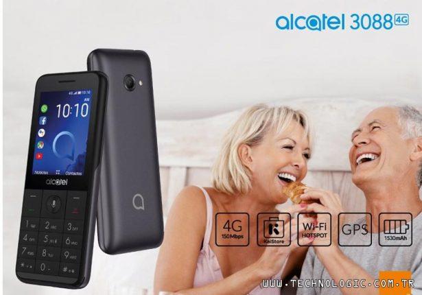 tuşlu telefon Alcatel 3088