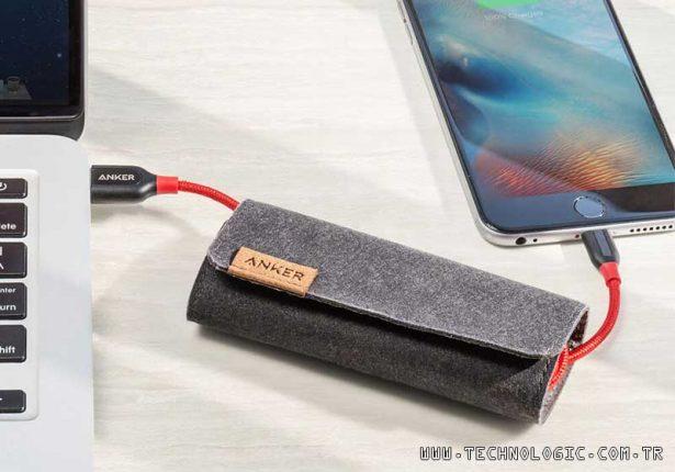 Anker Powerline+ şarj kablosu